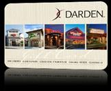 DARDEN Gift Cards GIFT CARD